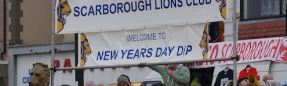 Scarborough Lions New Year Dip