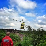Helimed 99 at Bridestones